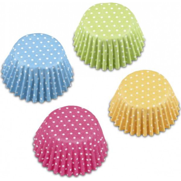 Paper cupcake liners Retro – for Muffin Sweets – 100 pieces