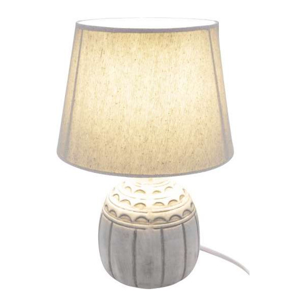 Tischlampe aus Keramik