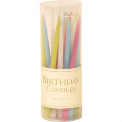 Birthday candles Tutti frutty