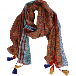 Schal - Scarf - Nicole, red