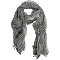 Schal - Scarf - Julia, grey