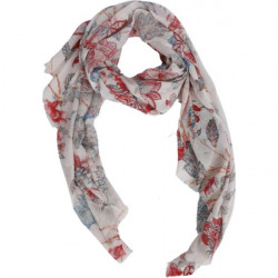 Scarf Brielle, grey