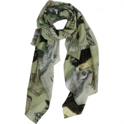 Schal - Scarf - Brielle, grey