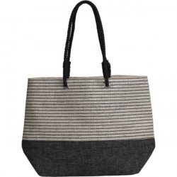 Shoulder bag Mary, grey/white