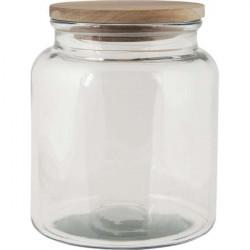 Aufbewahrungsglas mit Holzdeckel, 3000 ml