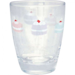 Wasserglas Alice pale grey von Greengate