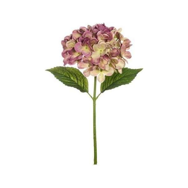 Artificial flower Scabiosa, dark purple