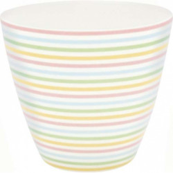Latte cup Aria white by Greengate