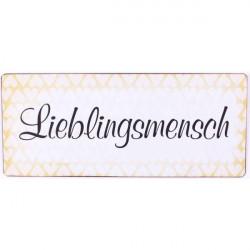 Blechschild - Lieblingspapa