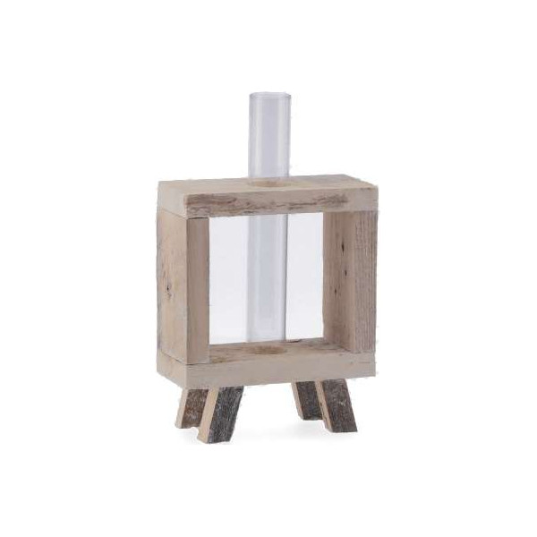 Vase conical, handblown