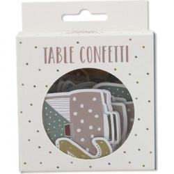 Table confetti for school enrollment - letters