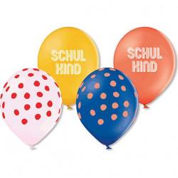 Ballons Schulkind