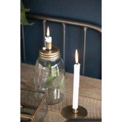 Candlestick for thin candles, Simplicity