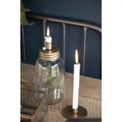 Kerzenhalter für dünne Kerze, Simplicity