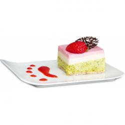 Dessertform Rechteck aus Edelstahl