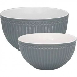 Serving bowl - Alice red,small, by Greengate