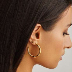 Round and Round stud earrings