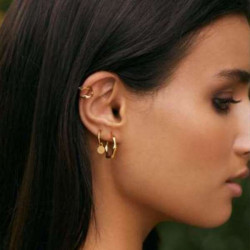 Natural flow earrings