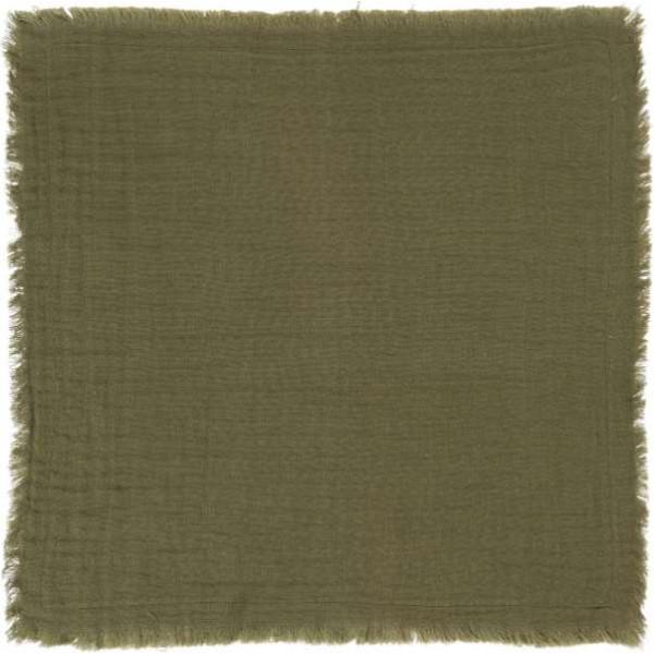 Cloth napkin - dark gray