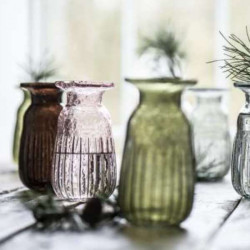 Apothecary jar for thin candle