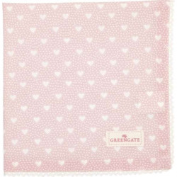 Napkin Marie petit dusty rose with lace by Greengate