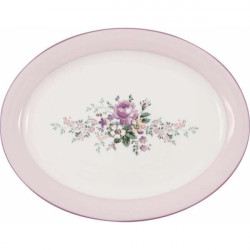 Cake Plate Alice pale pink by Greengate