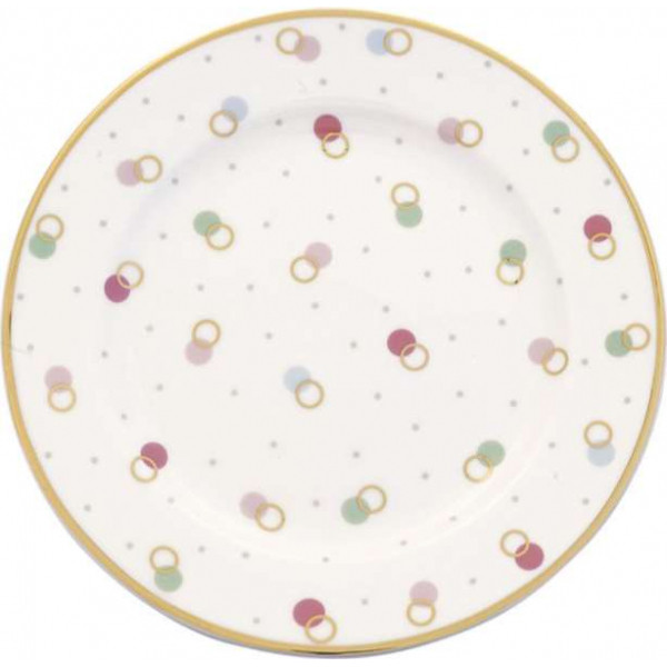 Small Plate Marie petit dusty rose by Greengate