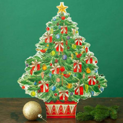 Adventkalender Tree with gifts