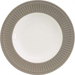 Deep plate Alice red by Greengate
