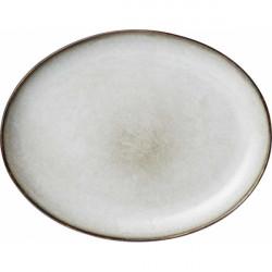 Teller - Plate - Maxime white von Greengate