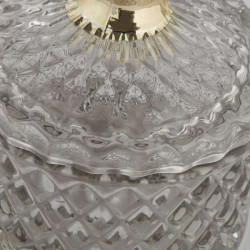 Aufbewahrungsdose - Storage jar - Miya Grey/Gold