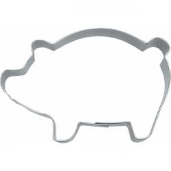 Keksausstecher Schwein aus Edelstahl