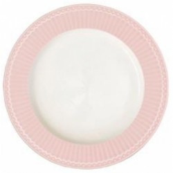 Dinnerplate Alice pale pink