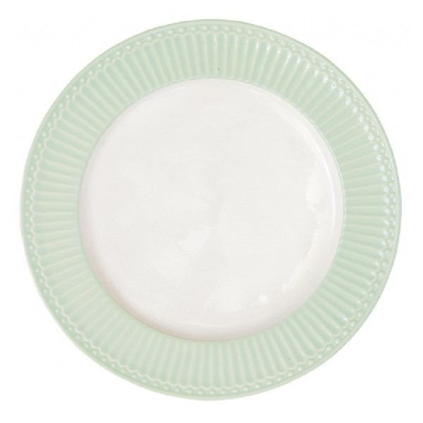 Dinnerplate Alice pale green by Greengate