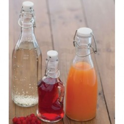Glasflasche - Glass Bottle - 500 ml