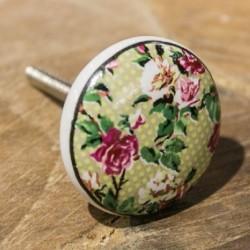 Möbelknopf Rosen