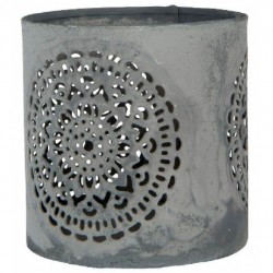 Tealight round, flower