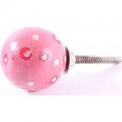 Möbelknopf rosa