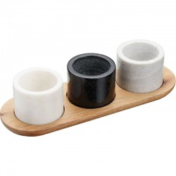 Marble 3 Piece Serving Set
