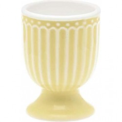 Egg cup Alice pale yellow by Greengate