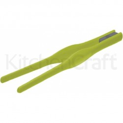 Silicone Tweezer Tongs green