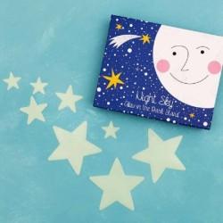 Glow in the Dark Stars Box of 30