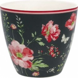 Latte cup Meadow white Greengate