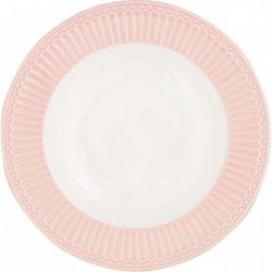 Deep plate Alice pale pink by Greengate