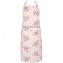 Apron Marley pale pink by GreenGate