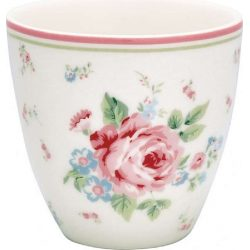 Latte cup mini Marley white by Greengate