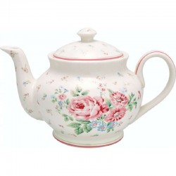 Teapot - Tess white by Greengate