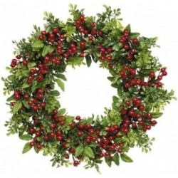 Wreath with cones and stars, Vintage