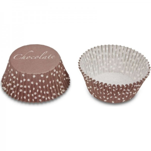 Paper cupcake liners – Ice crystal, 50 pieces