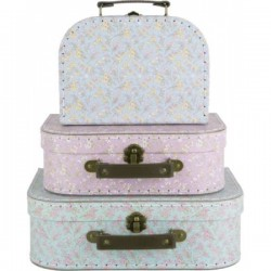 Case Maroccan, pink, medium